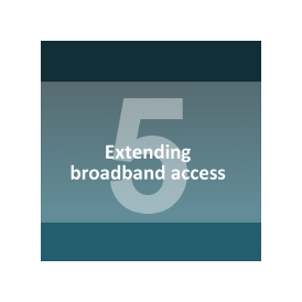 Extending broadband access and services