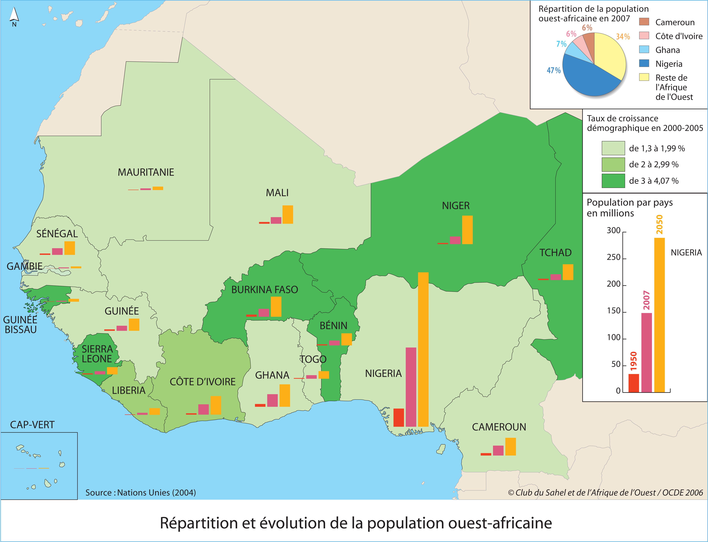 Carte Afrique De Louest.Publications Club Du Sahel Et De L Afrique De L Ouest Csao