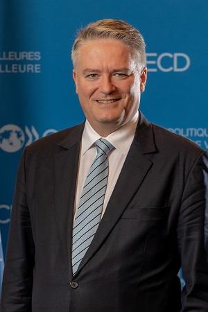 Click for more photos of Mathias Cormann, OECD Secretary-General