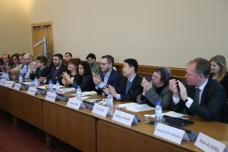 Photo of the second steering committee meeting of the World Observatory for subnational finance