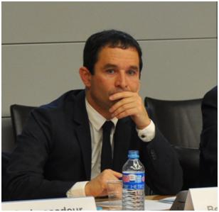 French Minister Benoir Hamon Photo