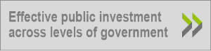More about effective public investment across levels of government