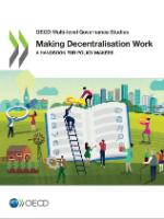 The cover of the publication Making Decentralisation Work_A Handbook for Policy-Makers