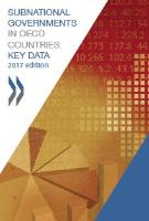 Cover: Subnational data in OECD Countries - Key data 2017