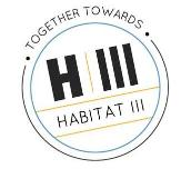 Together towards Habitat III: logo