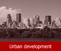 More information on urban development