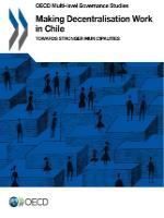 Making decentralisation work in Chile