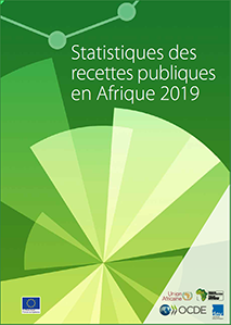 Cover in French for the Revenue Statistics in Africa 2018 brochure