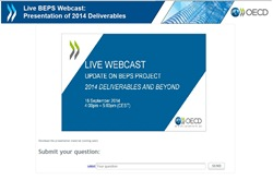 Image: BEPS Webcast September 2014