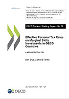 Effective Personal Tax Rates on Marginal Skills Investments in OECD Countries