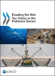 Publication cover for the report on Evading the Net: Tax Crime in the Fisheries Sector released 7 November 2013.