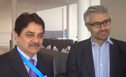 Interview with Pascal Saint-Amans and BMR Chairman Mukesh Butani, at IFA Copenhagen Congress
