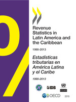 Cover Image of Revenue Statistics in Latin America and the Caribbean 2015 book