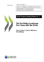 Tax policy working paper series image for No17