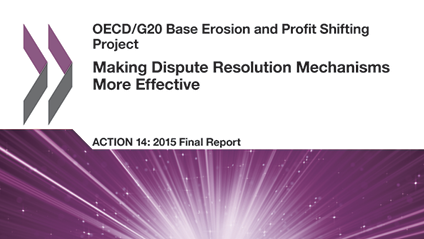 Action 14 - OECD BEPS