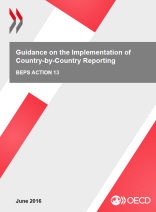 Cover: Guidance on the Implementation of Country-by-Country Reporting