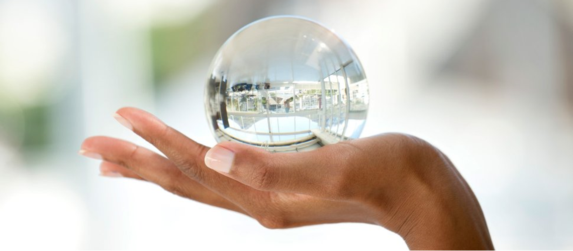 Slider: Transparency glass ball