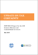 Cover: OECD/IMF report on tax certainty - 2018 update