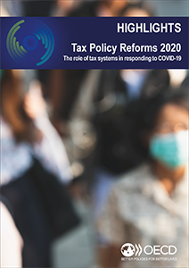 tax policy reform brochure cover