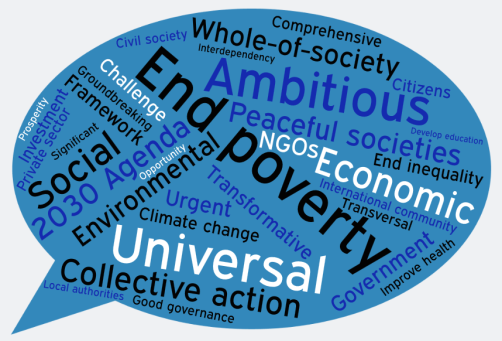 DevCom SDG speech bubble