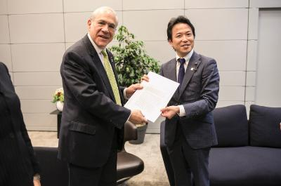 Japan joining DEV centre - Photo by OECD/Julien Daniel