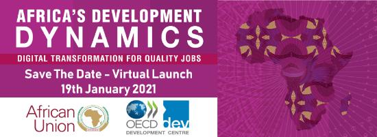 Africa's Development Dynamics 2021 Save the date - English