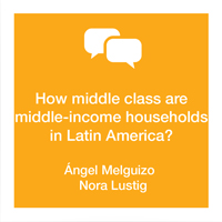 Working middle class income