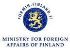 Logo Ministry of foreign affairs finland