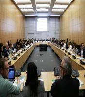 "Photo the OECD breakfast event ""Green Finance for Climate Action"", 1 April 2015, in the context of the OECD Global Forum on Development 2015."