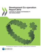 The Development Co-operation Report: Lessons on Linking Sustainability and Development (2012) is the key annual reference document for statistics and analysis on trends in international aid.