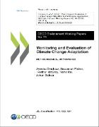 Cover of working paper on monitoring and evaluation of climate change adaptation