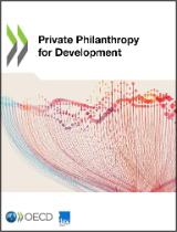 Cover page OECD report on Private Philanthropy for Development