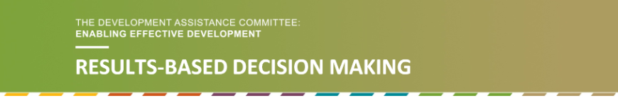 Results-based decision making banner