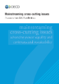 Mainstreaming cross-cutting issues
