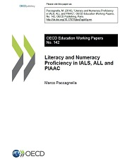 Cover page of the EDU Working Paper n°142