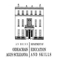 Department for Education and Skills, Ireland logo