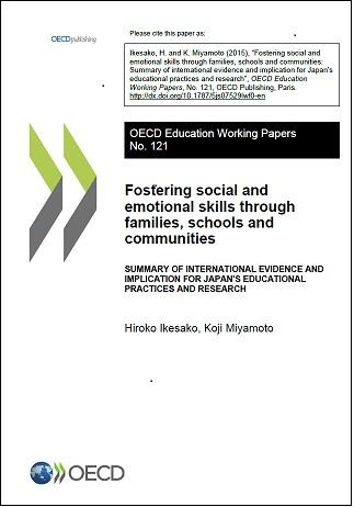 Thumbnail for EDU WKP n°121: Fostering Social and Emotional Skills through Families, Schools and Communities.