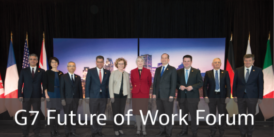 Clickable image for the G& Forum on the Future of Work webpage