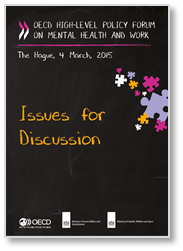Issues for discussion at the OECD High-level forum on Mental Health and Work