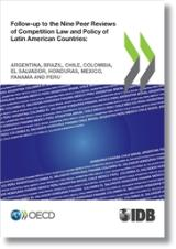 Follow-up to the Nine Peer Reviews of Competition Law and Policy of Latin American Countries - cover