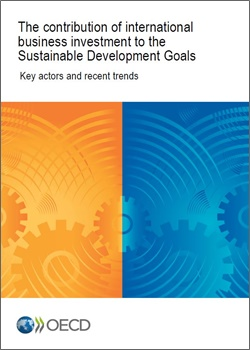 The contribution of international business investment to the Sustainable Development Goals 250x350