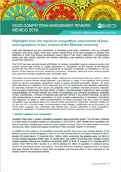 Mexico - Competition Law and Policy - OECD