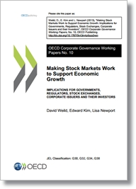 Corporate Governance Working Paper No.10: Making stock markets work to support economic growth