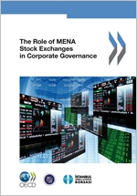 The Role of MENA Stock Exchanges in Corporate Governance cover page 150x215