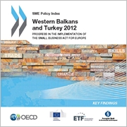 SME Policy Index: Western Balkans and Turkey 2012 - Key findings cover 180 x 180