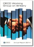Working Group on Bribery Annual Report front cover, shadow