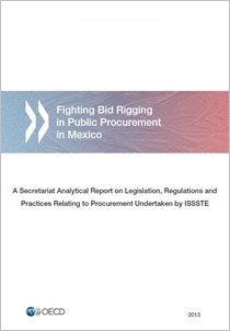 Cover page for the ISSSTE Report