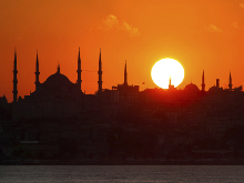 Istanbul sunset small