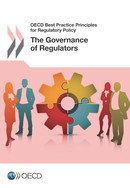 Book cover of the Best Practice Principles: The Governance of Regulators
