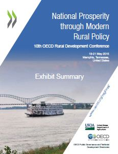 10th OECD rural conference Exhibitor summary cover